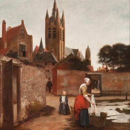 Pieter de Hooch in Delft: From the Shadow of Vermeer at the Museum Prinsenhof, Delft