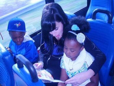 Family visitation program at Kids with Incarcerated Parents (KIP) Canada
