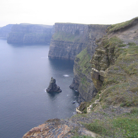 Cliffs of Moher - Middle