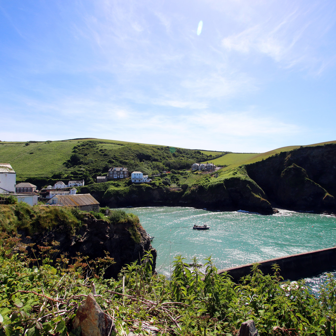 Port Isaac, filming location for the ITV show Doc Martin.