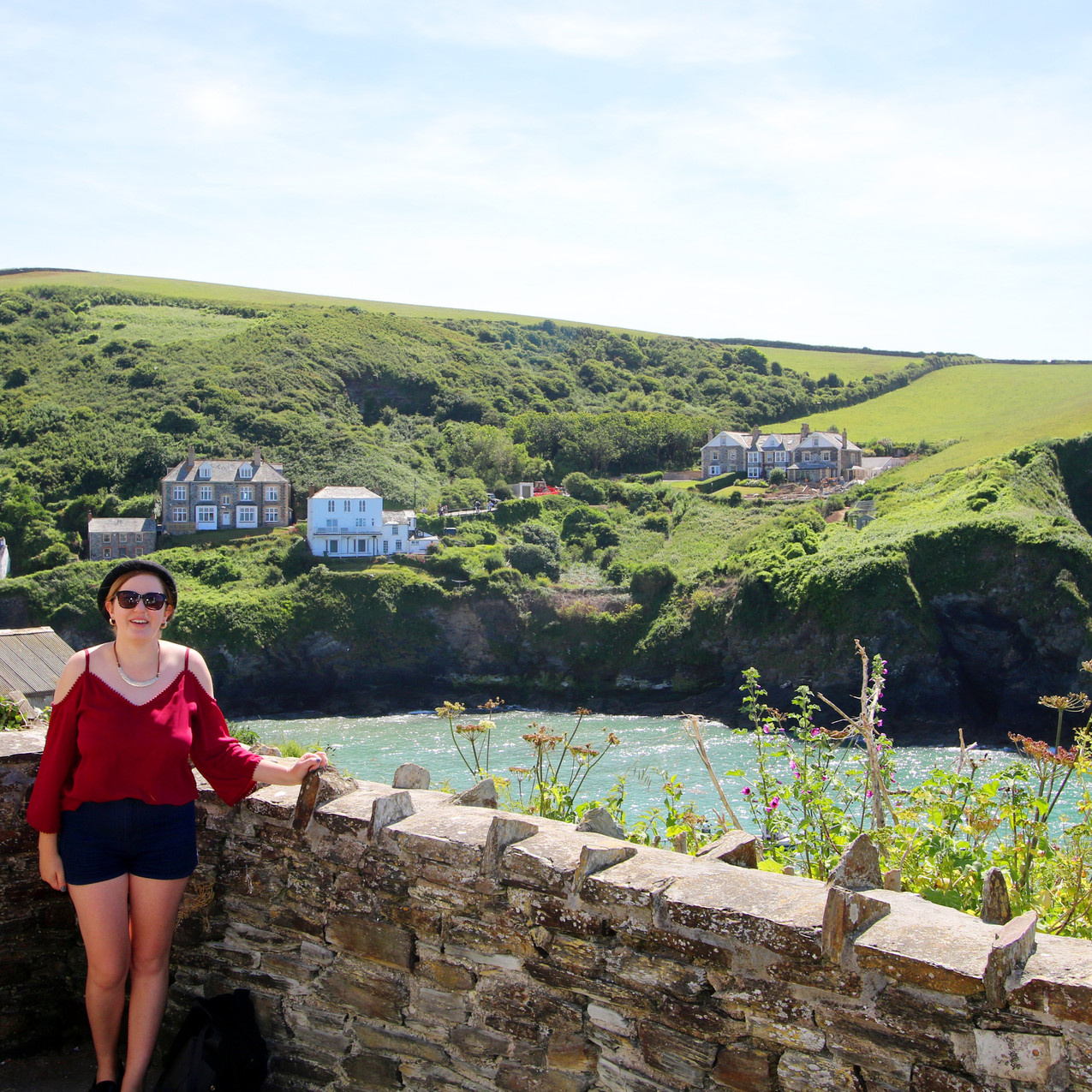 Port Isaac in Cornwall, filming location for the ITV show Doc Martin.