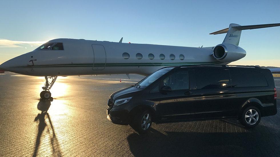 Private jet Bergen Airport