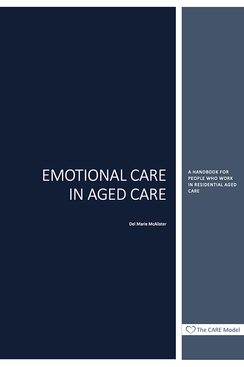 Emotional Care in Aged Care