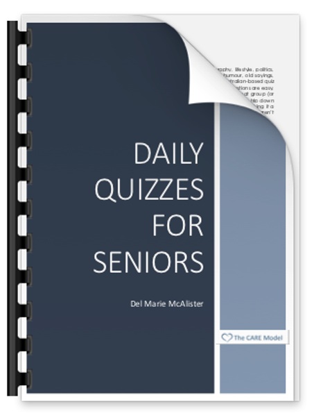 Daily Quizzes for Seniors