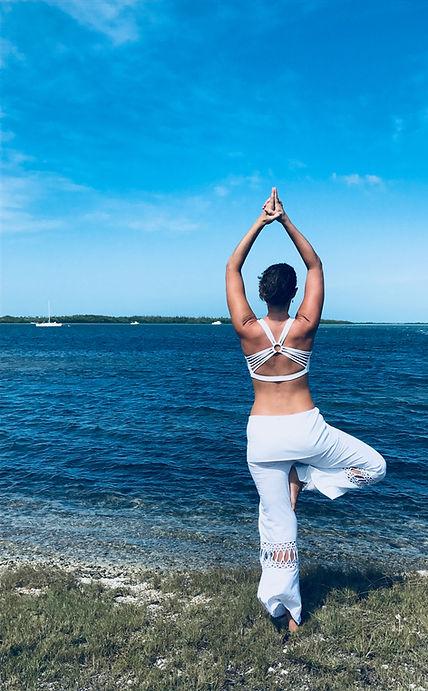 Yoga pose Tree-Sugarloaf Key, FL