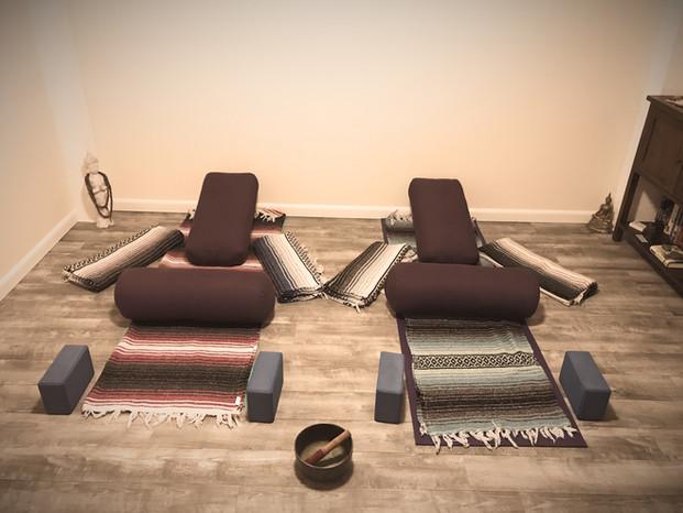 Restorative Yoga Private Lesson