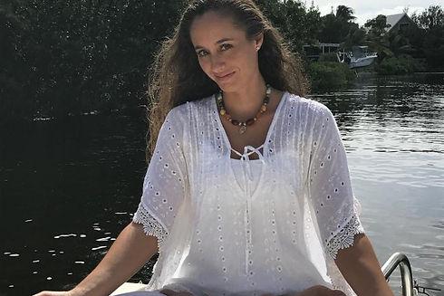 Lotus Yoga Pose-Sugarloaf Key, FL