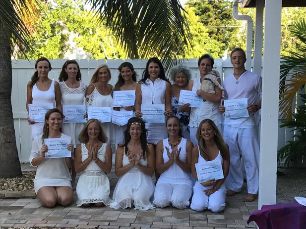 Training future Yoga Teachers