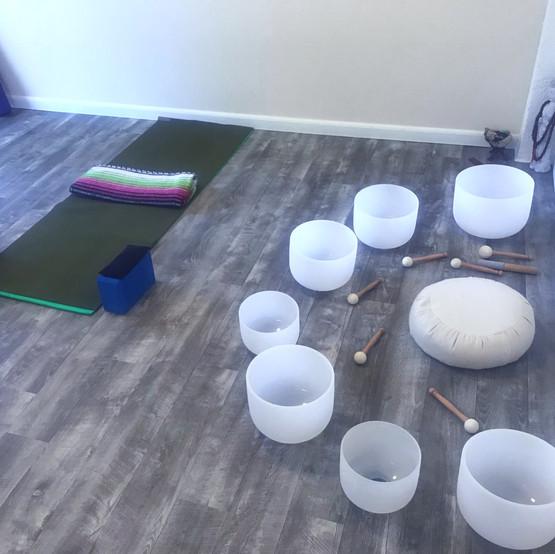 Sound Healing-Private Yoga Lesson