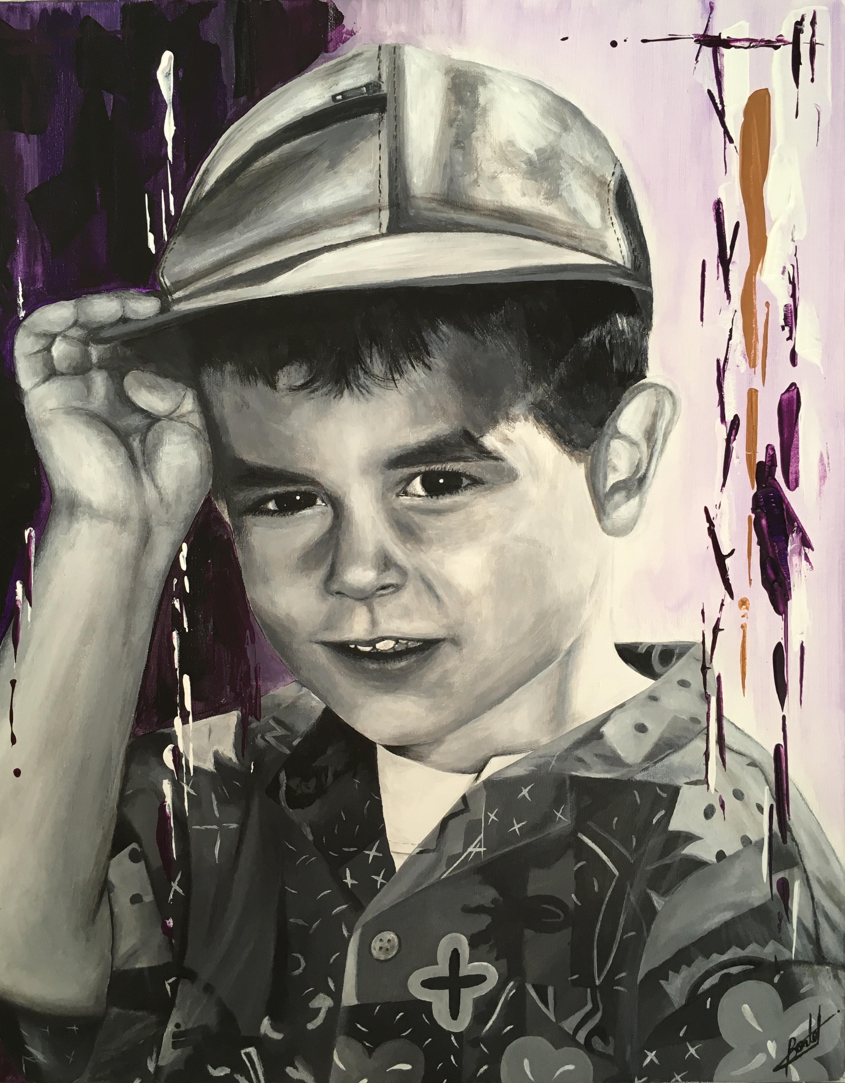 AYMERIC - Portrait d'enfant