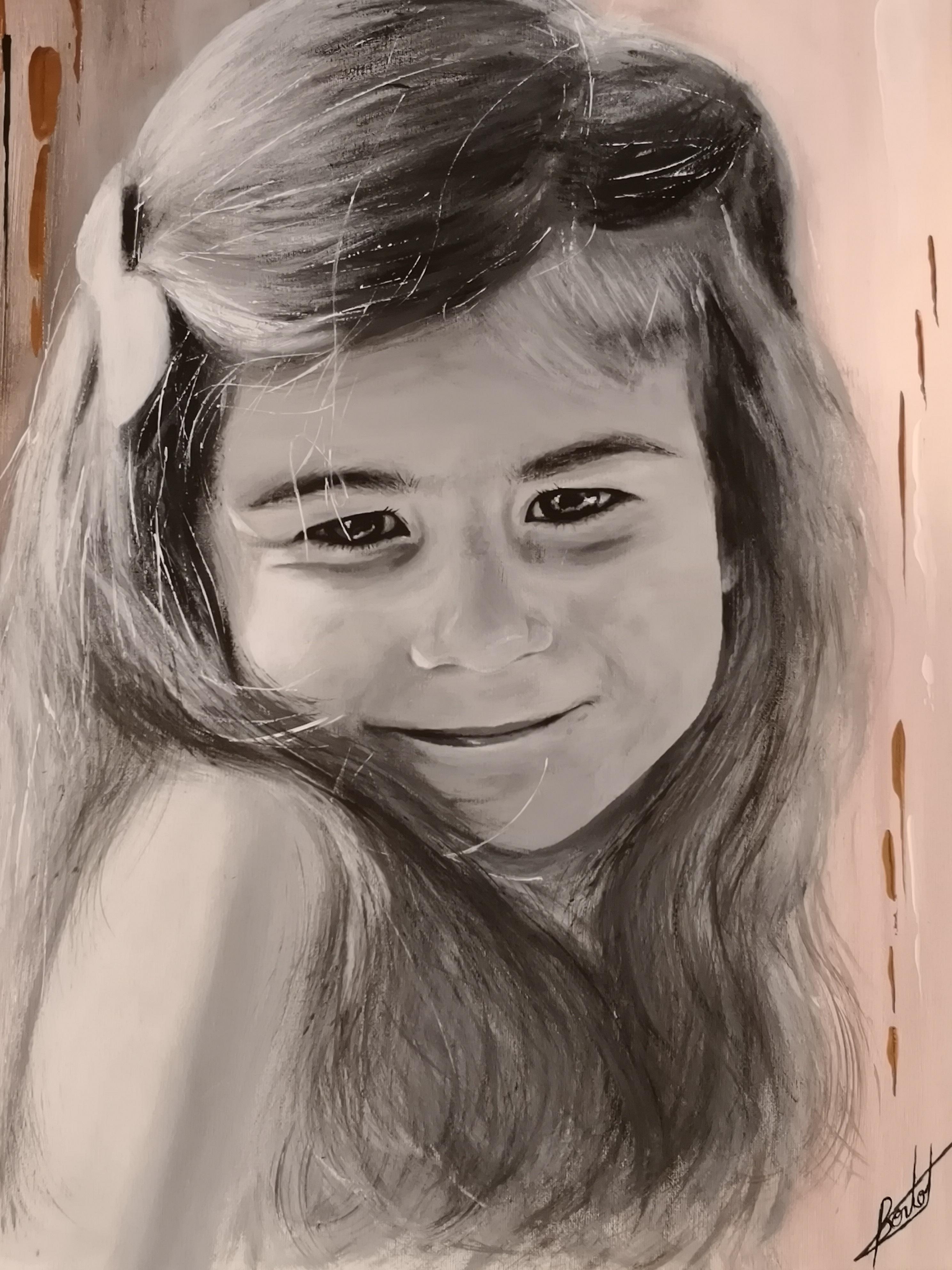 NAOMIE - Portrait d'enfant