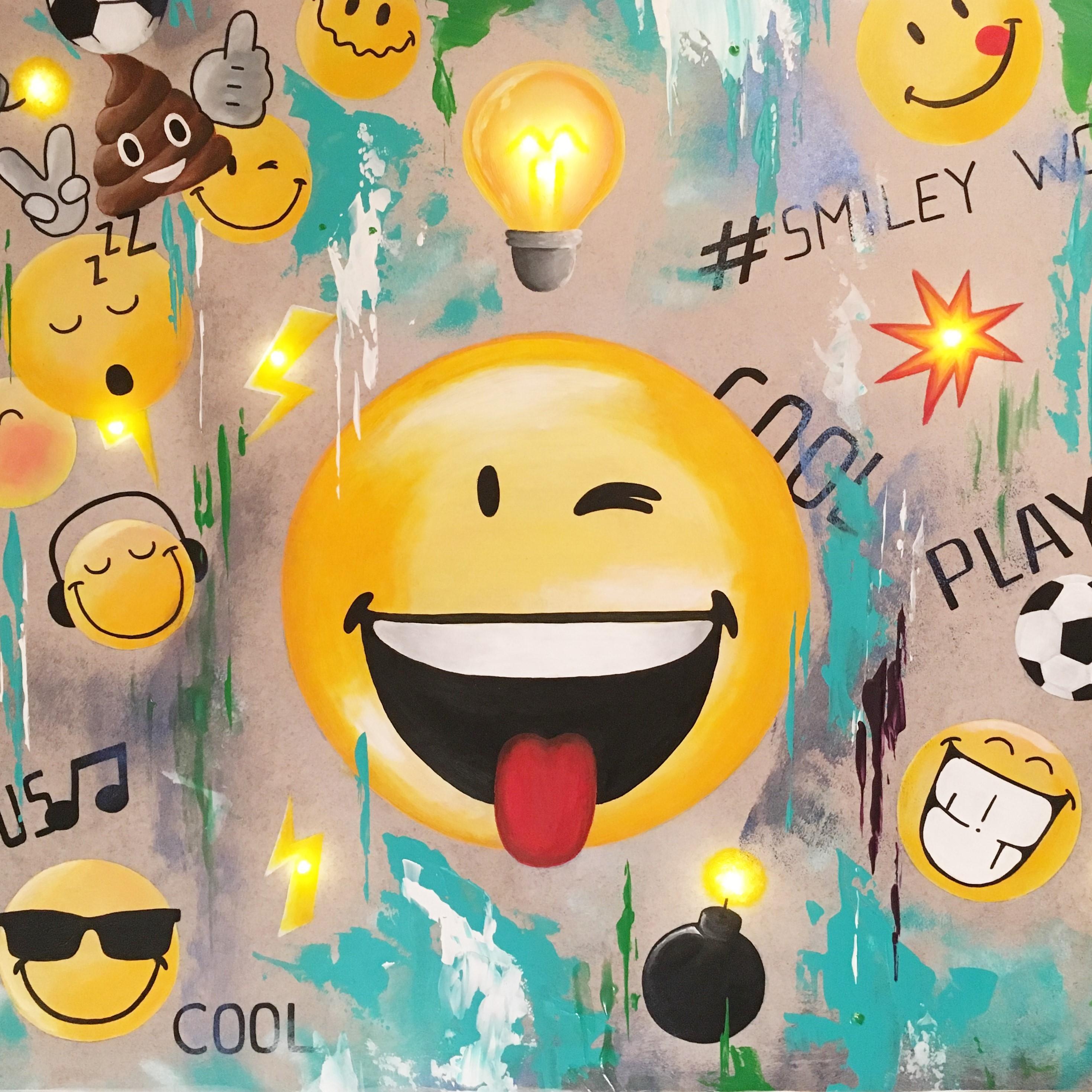 Peinture Smiley