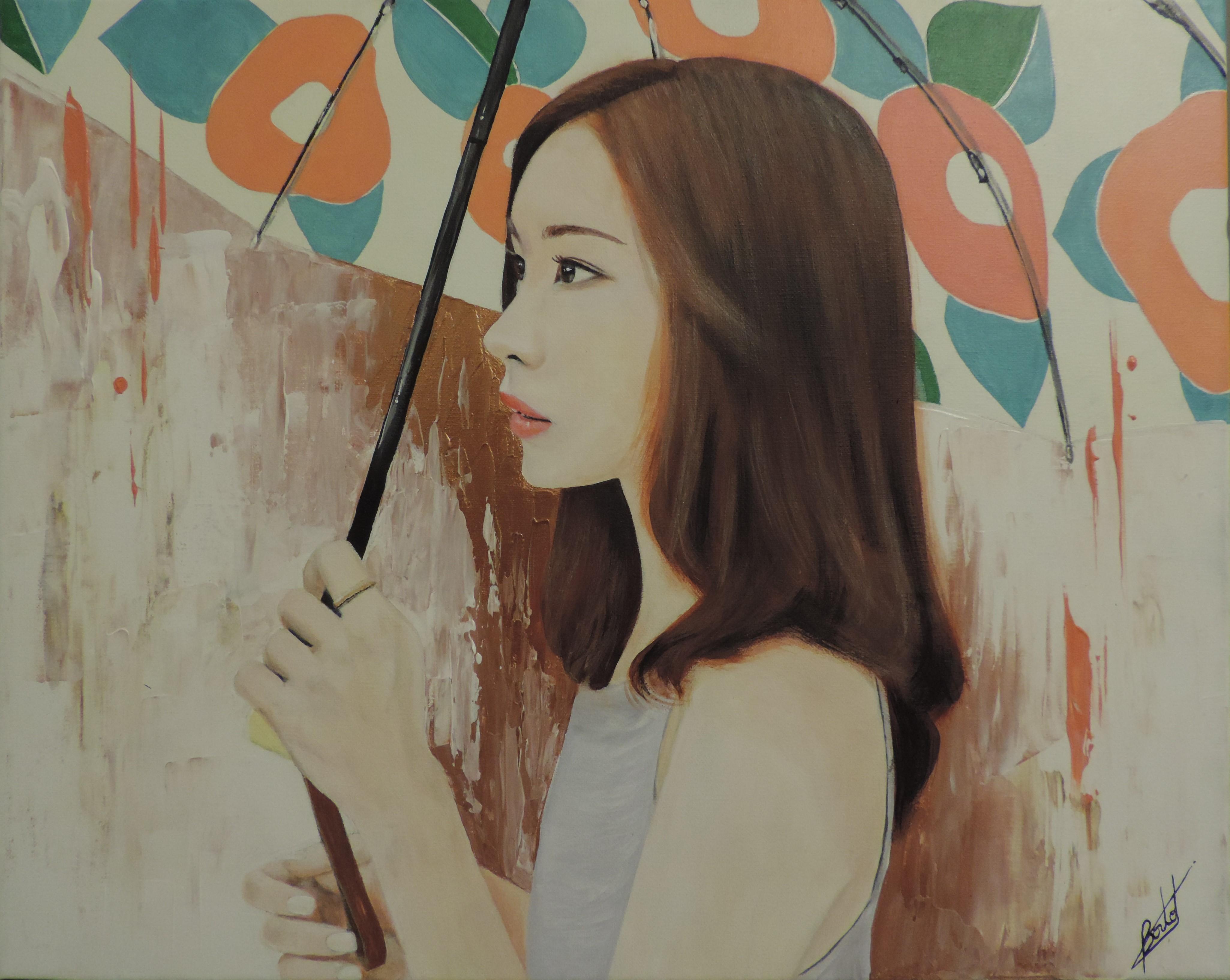 Portrait en couleurs