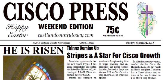 Stripes & A Star for Cisco Growth 3.31.13