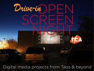 Drive in Open Screen
