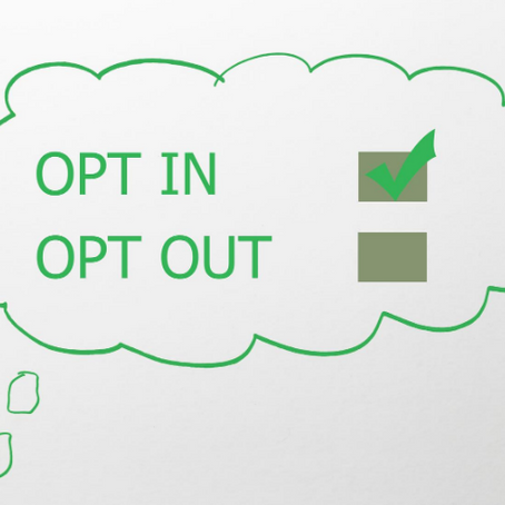 Why opt-in is the best option