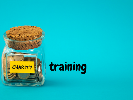 Charity training coming up