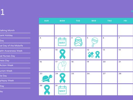 May social media calendar
