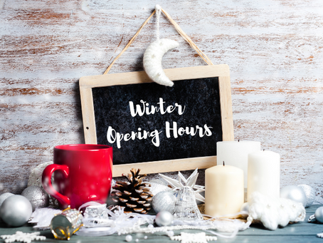 Winter opening hours