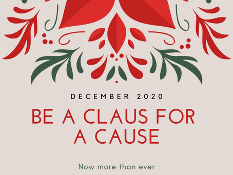How to be a Claus for a cause
