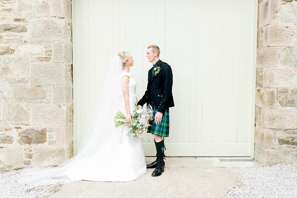 Wedding Photographer Fife, Scottish Barn Wedding