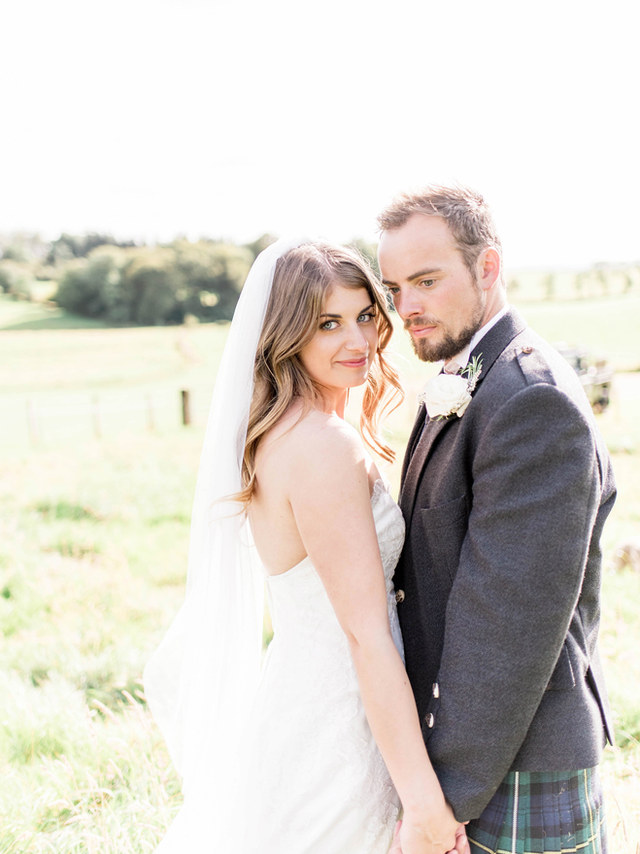 ROSIE + JOHN | TIPI WEDDING AT HOME, BALMORE, GLASGOW
