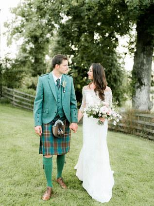 LORNA + MATT   FARM WEDDING, FIFE