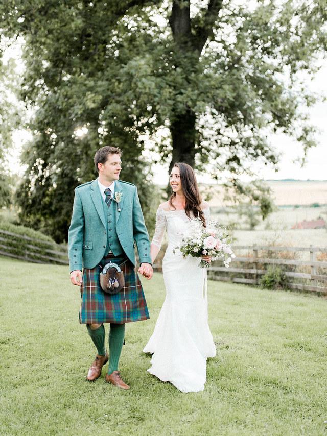 LORNA + MATT | FARM WEDDING, FIFE