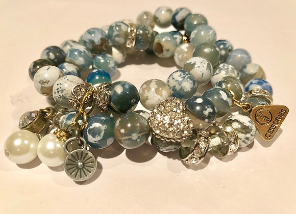 Denim Diamonds & Pearls