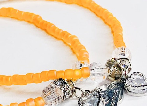 Anklet - Apricot