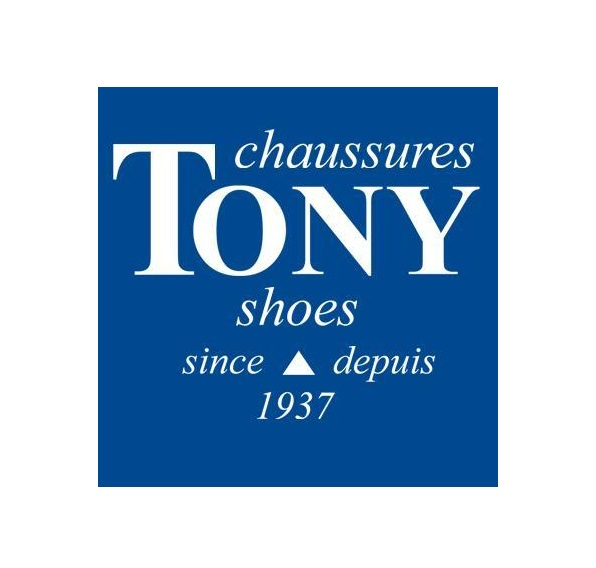Tukx overshoes Tony Shoes store Logo