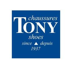 Tukx overshoes Tony Shoes store Logo