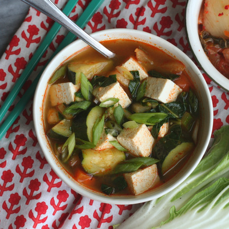 Korean-Style Vegetable Soup