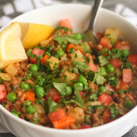 Moroccan Couscous Pilaf