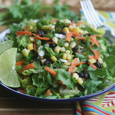 BLACK BEAN & CORN TOSSED SALAD