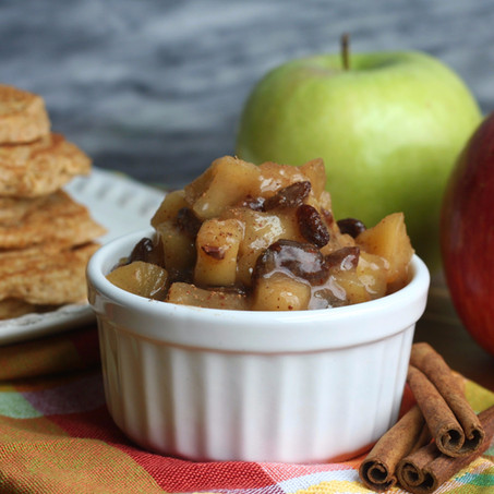 Spiced Apple Raisin Compote