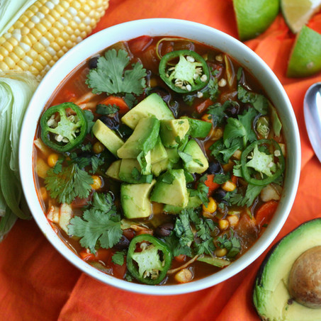 Guatemalan Style Vegetable Soup