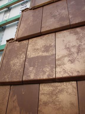 keramisch koper dakpannen