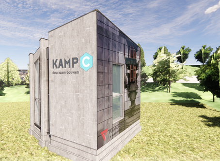 Pixasolar BIPV facade cladding at home Kamp C