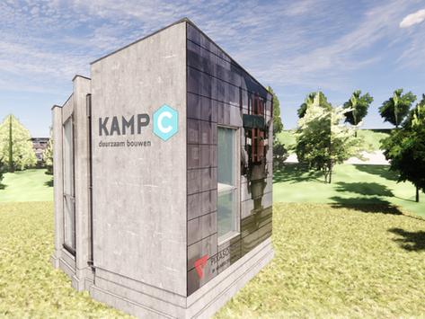 Pixasolar BIPV facade cladding at home Kamp C