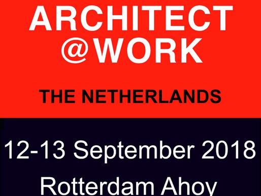 Bezoek ons op Architect@Work!