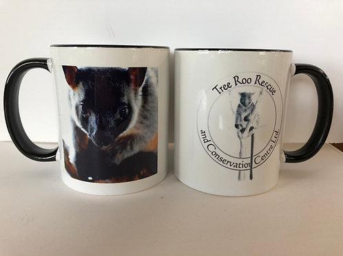 Tree Roo mug Bear Face