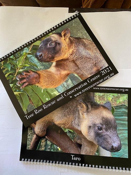 Tree Roo Rescue Wall calendar 2021