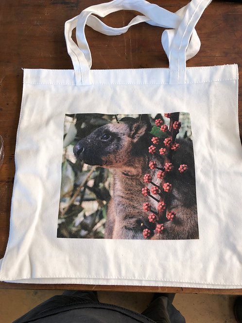 Small cotton tote bag with Mickie