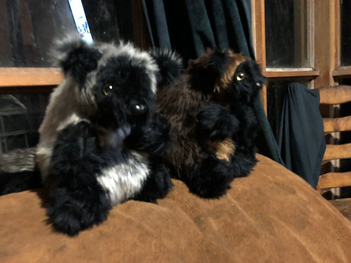 Fluffy Lumholtz tree kangaroo soft toy