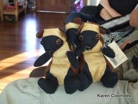 Lumholtz tree kangaroo soft toy