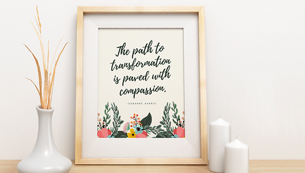Compassion Art Print