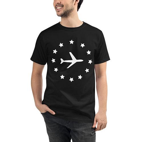 Airplane Organic T-Shirt