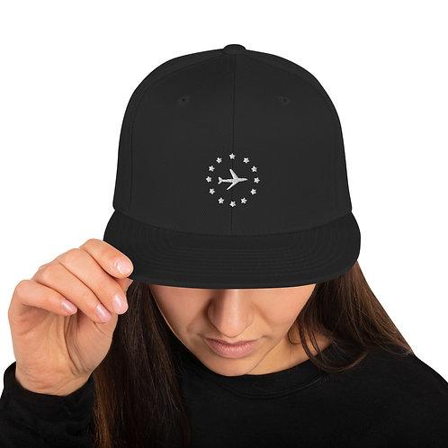 Airplane Snapback Hat