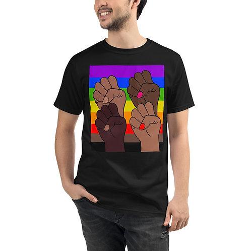 BLM Pride Organic T-Shirt